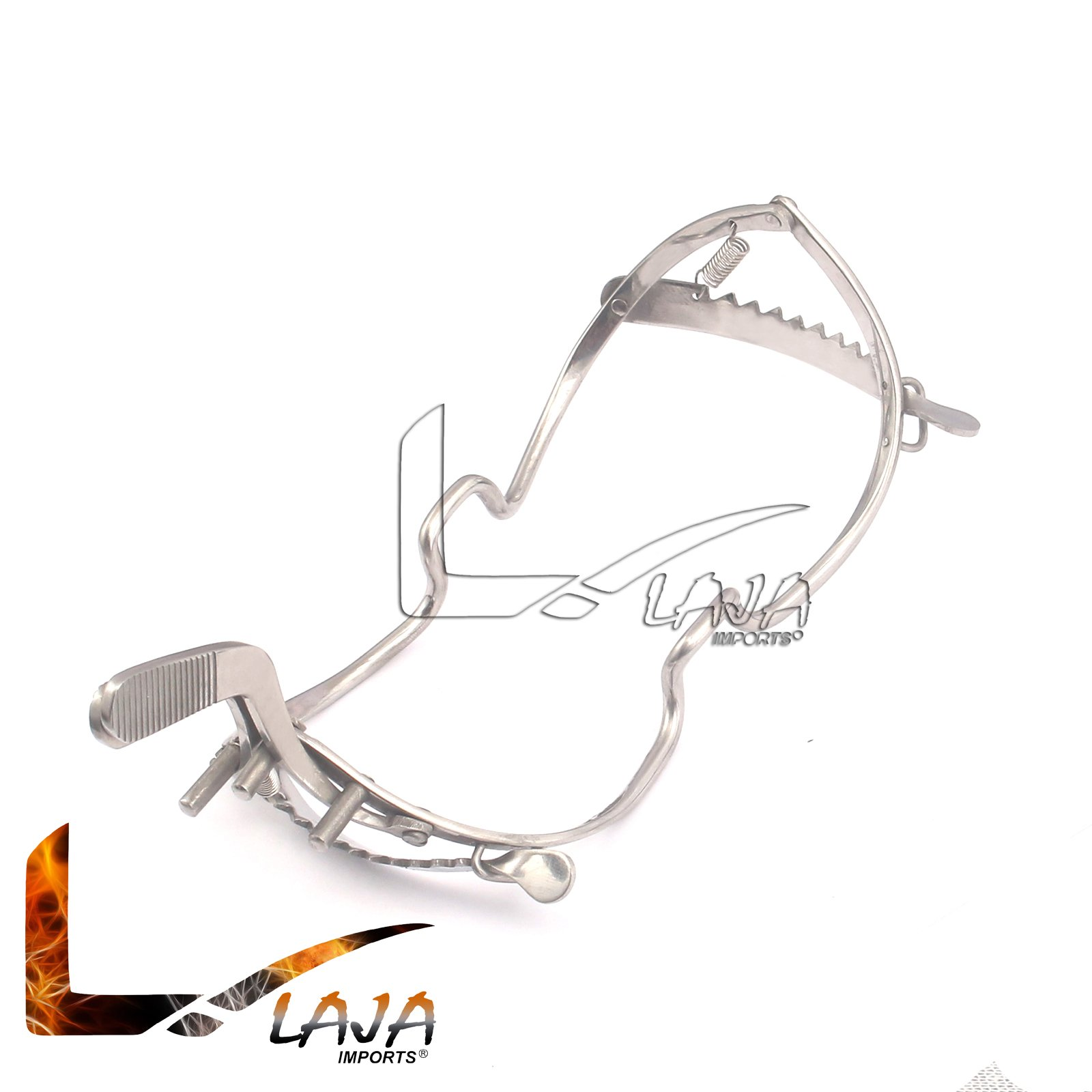 LAJA Imports 6'' Whitehead Dental Mouth Immobilizer Gag Stainless Steel
