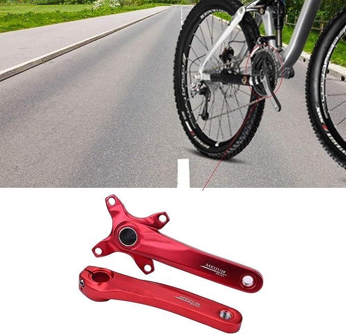 1 Par de Bielas de Una Sola Velocidad de Bicicleta para Shimano ...