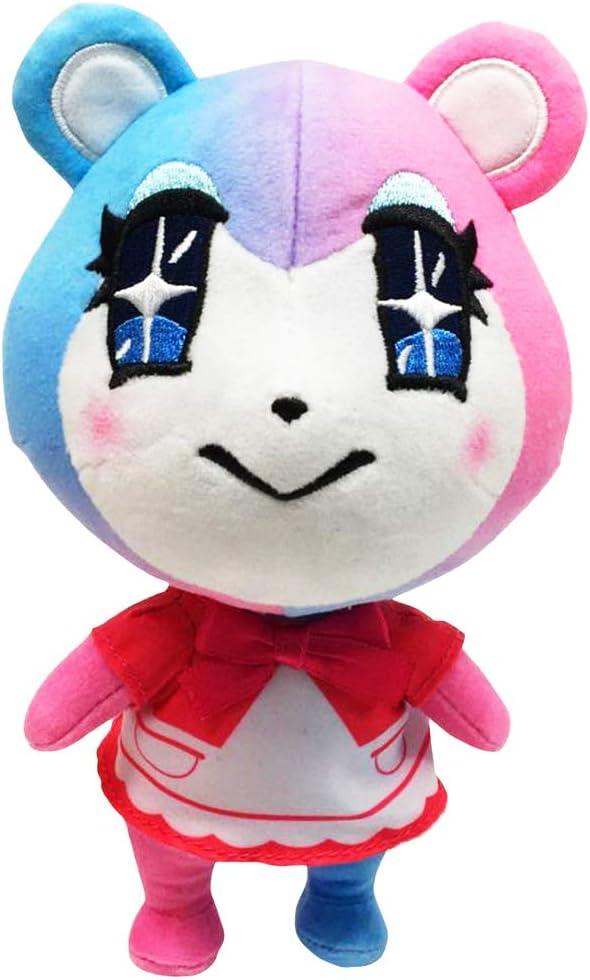 POPRORE Animal Crossing New Leaf Zucker Diana Porter Flora Tasha Chrissy Marshal Judy Molly Plush Toy Childrens Anime Imagination Plush Doll Boy Girl Gift Doll Merengue