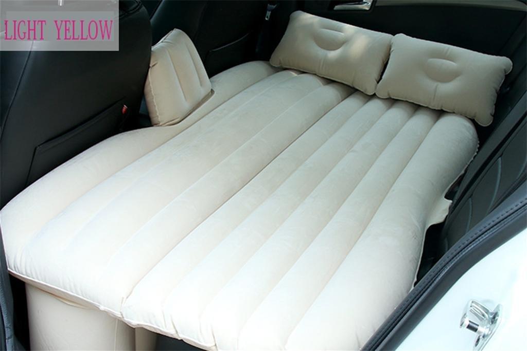 HETAO Aufblasbar Air Bett für Auto Auto Aufblasbare Bett aufgefüllt hinten Matratze Bett Reisebett für Auto SUV 88  135cm convenient Auto