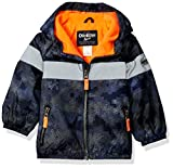 Osh Kosh Baby Boys Midweight Active Fleece Lined Jacket, Print, 18M