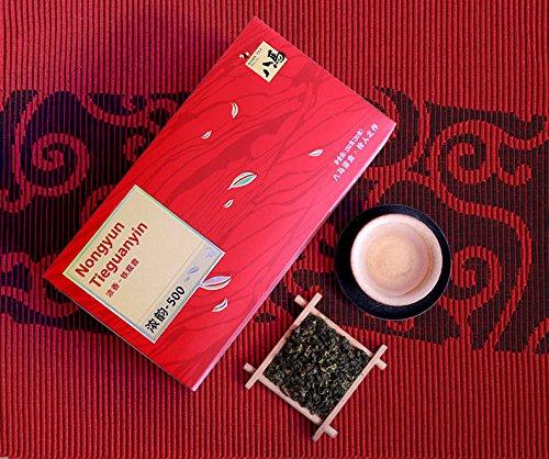 Bama Tea Chinese Oolong Tea AnXi Tieguanyin Nongxiang tea 250g八马茶叶浓香铁观音乌龙茶家庭装