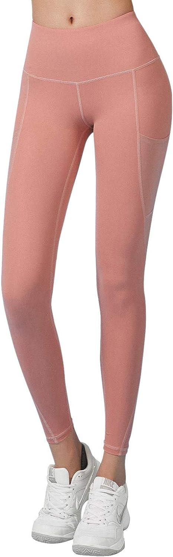 RaMokey Leggings Donna Fitness Opaco Vita Alta Allenamento Palestra Push Up Sportivi Yoga Leggins Pantaloni