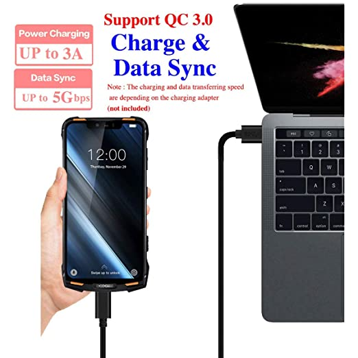 S8 USB Power Adapter Charger Data Sync Cable Cord Lead For Blackview A9 Pro