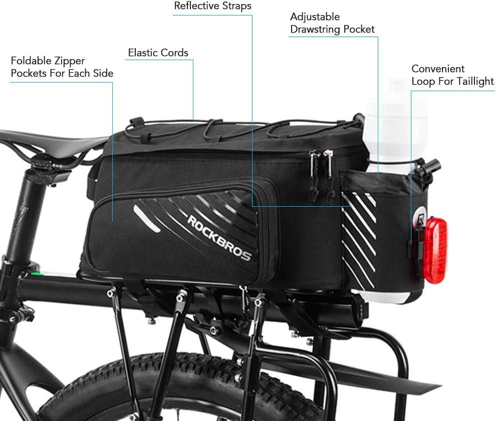 Walmeck- – Bolsa para baúl de Bicicleta – Bolsa para Bicicleta de ...
