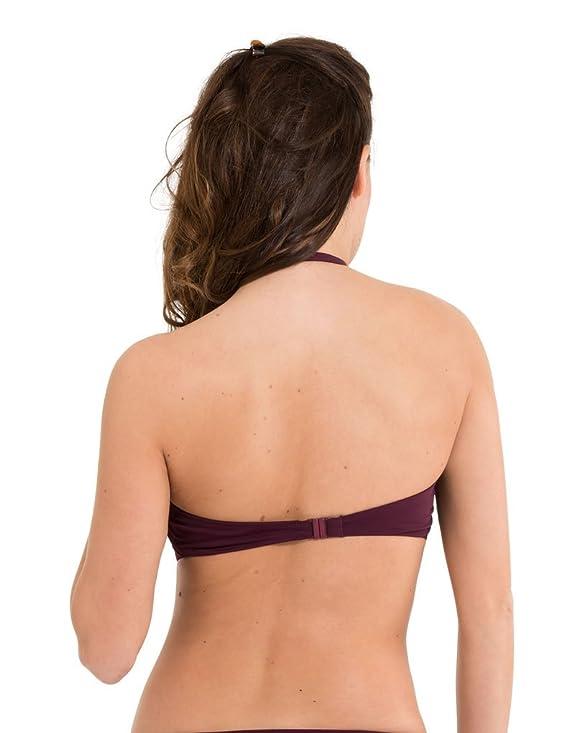 LingaDore Sunrise Halterneck Bikiniset, Maillot de Bain Deux Pièces Femme, Noir (Nero 150), 40 C
