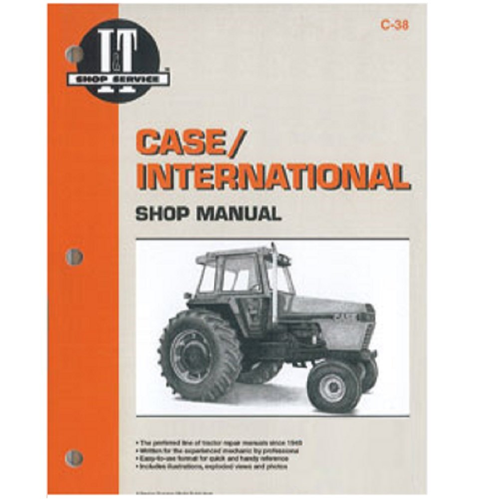 Amazon.com: C38 New Case/International Harvester Tractor Shop Manual 1896  2096: Industrial & Scientific