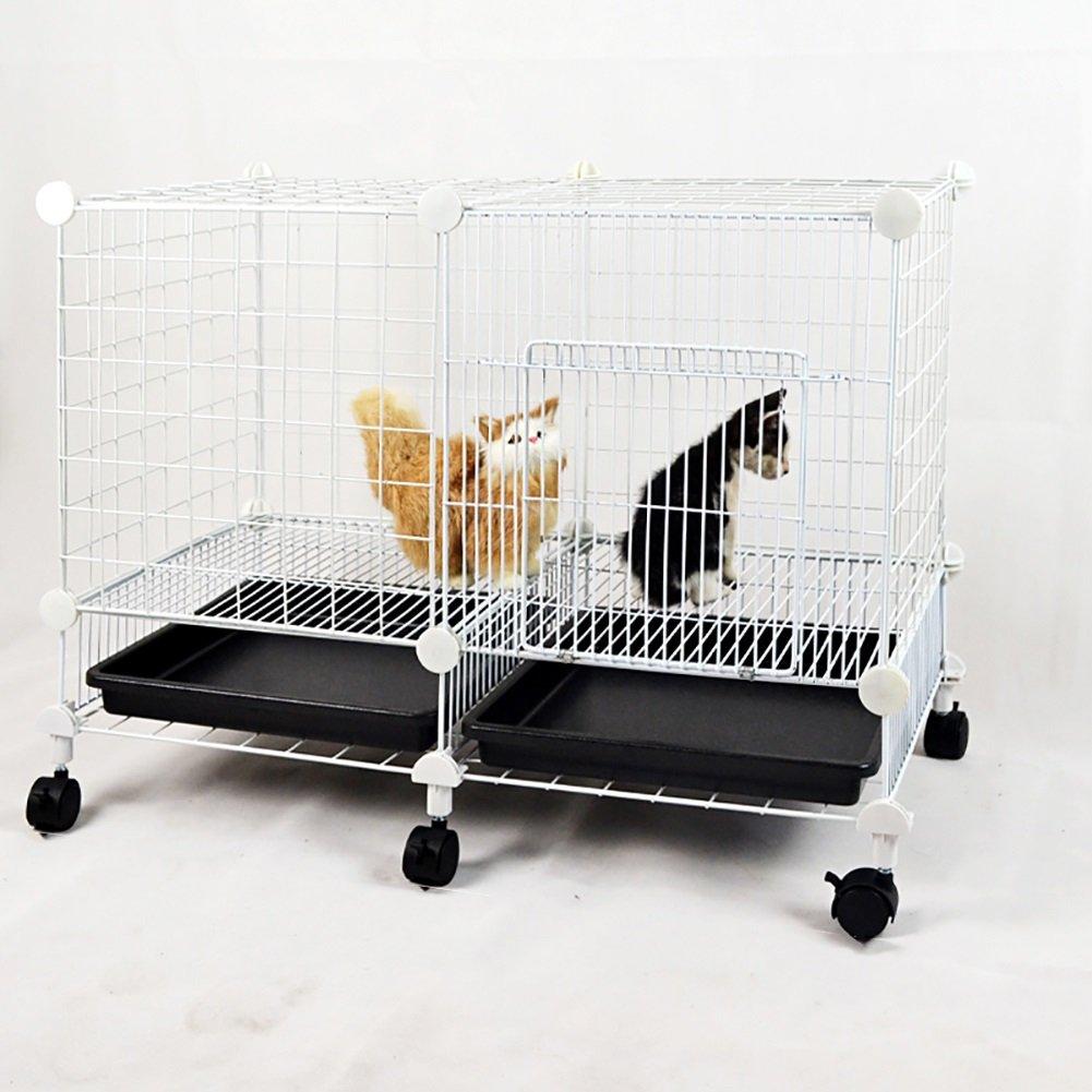 全ての 小さな携帯用犬の箱、車輪付き 白、白い金属のペットハウス、屋内屋外、子犬の猫の運動フェンスの障壁Playpenケンネル、75* (色 37 白)* 52センチメートル (色 : 白) 白 B07DVRVDCG, BUZZ(バズ):bd613cd8 --- a0267596.xsph.ru