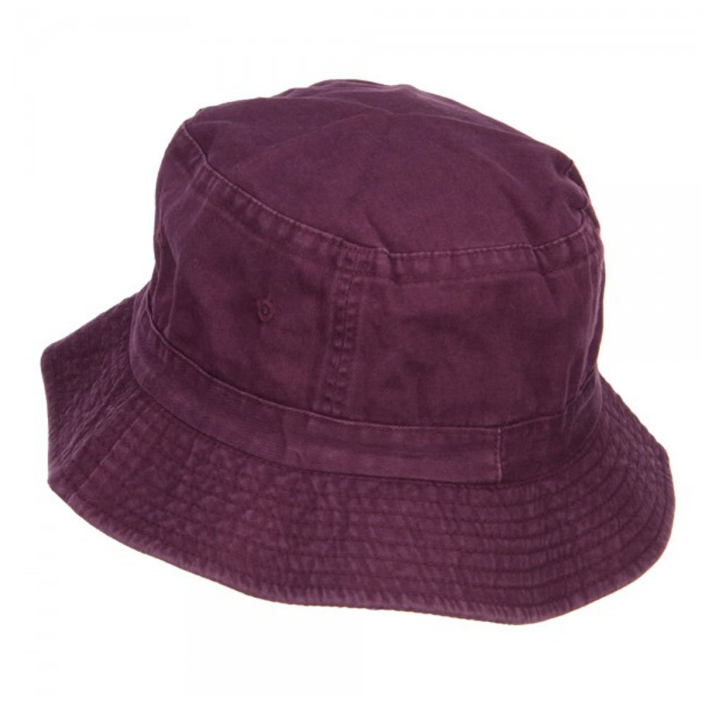 5d63c39b6c3fda Cameo Pigment Dyed Bucket Hat-Burgundy -OSFM at Amazon Men's Clothing store:
