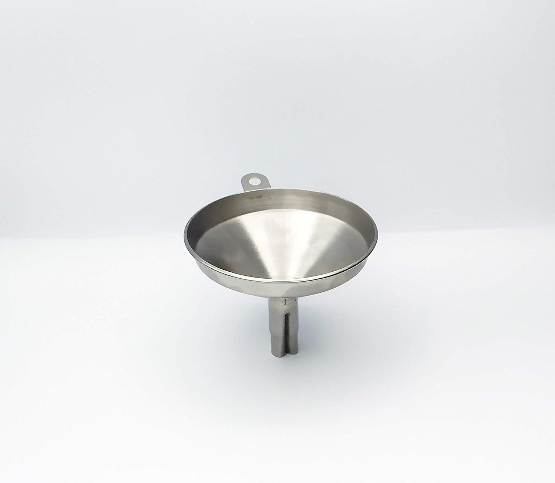 EUROXANTY® Embudo de Acero   Embudo Industrial   Embudo de Cocina   Embudo para Aceite   Embudo con Canal de Aire   Embudo de Ø 11 cm
