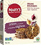 Marys Gone Crackers Organic Onion Cracker, 6.5 Ounce - 12 per case.