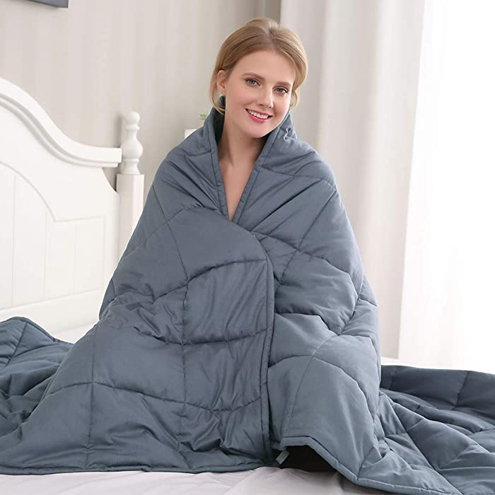 The Best Amy Garden Weighted Blanket 15 Lbs 48X72