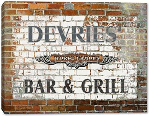 devries-world-famous-bar-grill-brick-wall-canvas-print-16-x-20