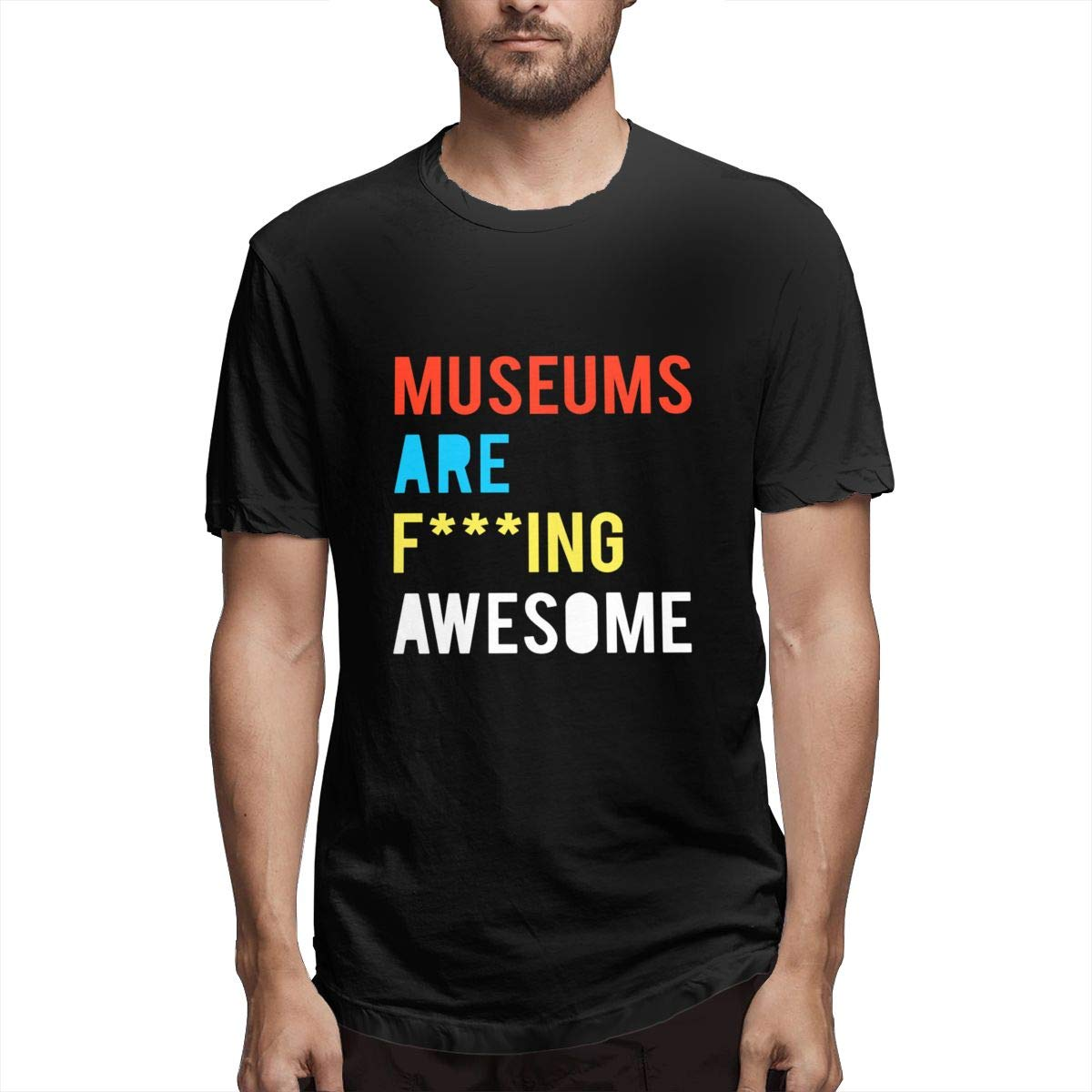 Amazon Museums Are Fing Awesome Custom T Shirts 100 Cotton For