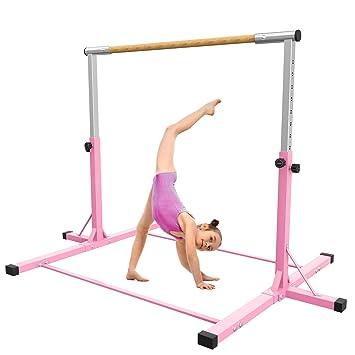 Amazon.com: SHIWEI Barra de entrenamiento de gimnasia para ...