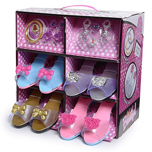Fashionista Girl Princess Dress Up and Role Play Collection Shoe