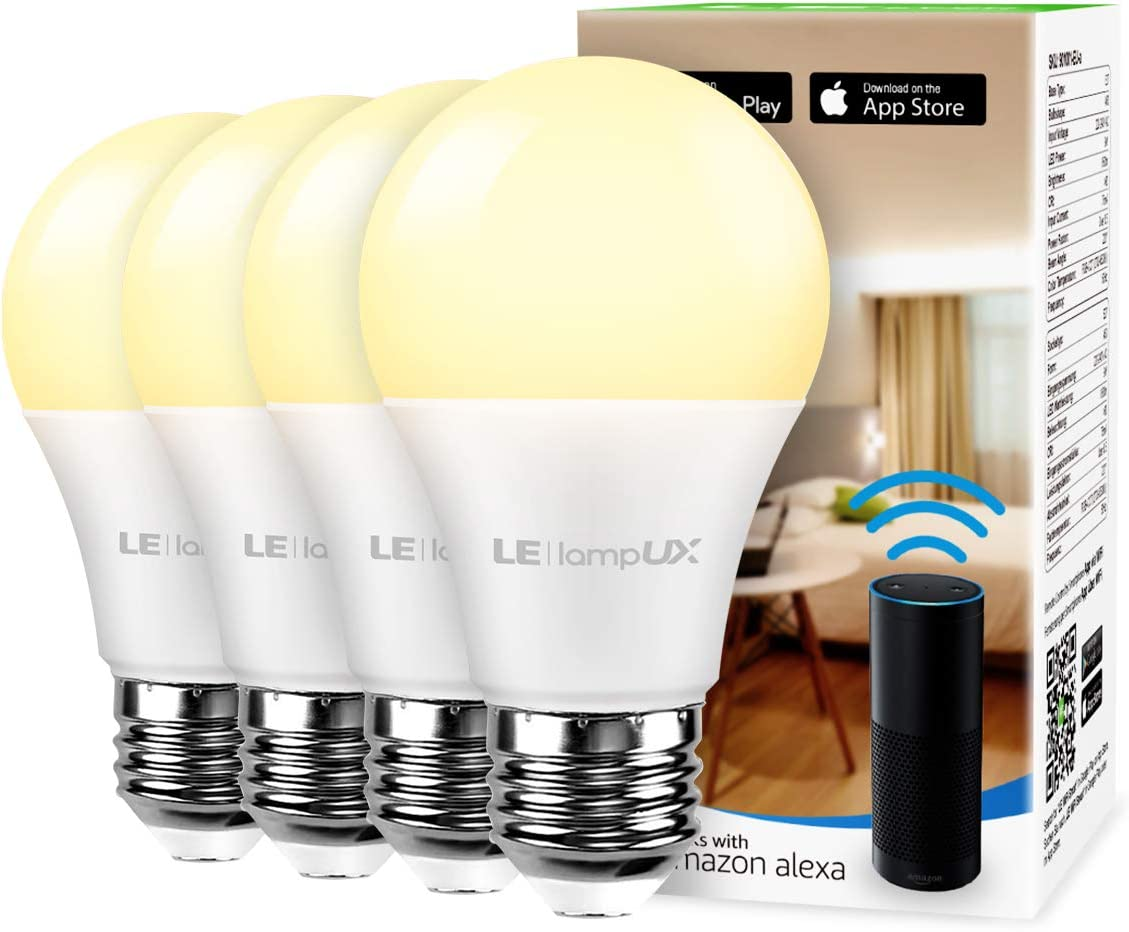 Lighting EVER LED Smart Light Bulbs Work