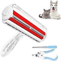 LENUMB Quitapelos y Rodillos para Mascotas, Removedor de Pelo para Gatos y Perros, Lavable y Reutilizable Cepillos…