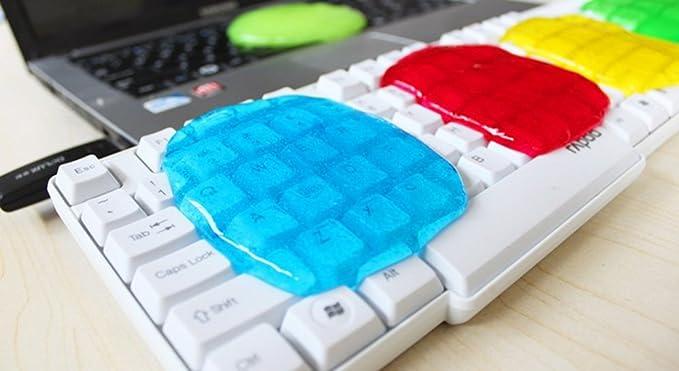 Dealglad® Limpiador Gel mágico universal para teclado de ordenador antipolvo: Amazon.es: Oficina y papelería