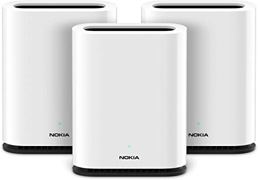 Nokia WiFi Beacon 1 sistema de enrutador de malla – Extensor de cobertura WiFi para todo el hogar, rendimiento AC1200 con resolución de interferencia WiFi: Amazon.es: Electrónica