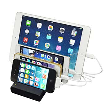 DASHUICHONGLE Mini-Cargador de celulares para Apple Android ...
