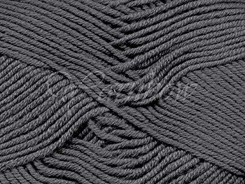 Debbie Bliss Baby Cashmerino Yarn 58 Dark Grey - Grey Merino Cashmere