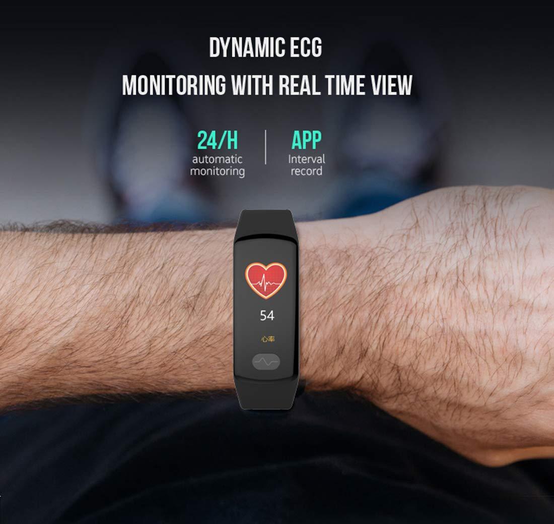 Amazon.com: ZEERKEER Reloj inteligente, Bluetooth Pulsera ...