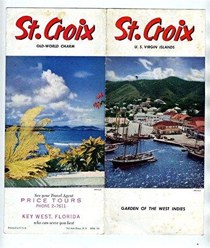 Amazon.com : St Croix United States Virgin Islands Brochure ...