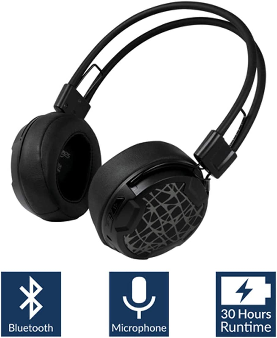 Arctic P604 Wireless (Black), Dynamic Bluetooth 4.0 Headphones, On-Ear Design Smart Control Integrated Microphone, 30 Hours Battery Life