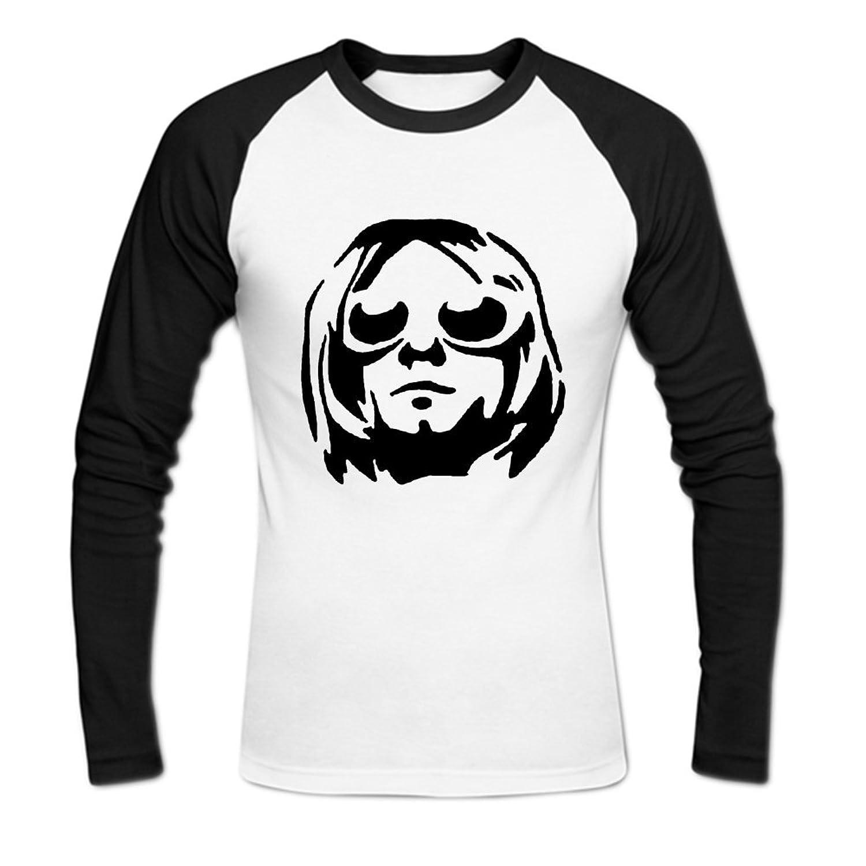 Kurt Cobain Mens Baseball Shirts