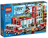 Lego City Fire Station Building Set