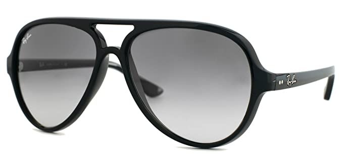 Ray-Ban CATS 5000 Black Grey Sunglasses RB 4125 601 32 59mm + SD ... 3a1ae487ed