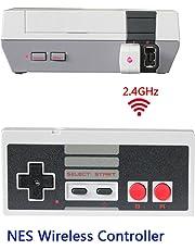 Sans fil Manette pour Nintendo NES Classic Mini,NES Mini Classic Manette sans fil,TT Globle NES Gamepad sans fil pour Nintendo Mini NES Classic Edition,Wireless Manette Contrôleur Joypad pour NES mini