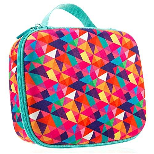 ZIPIT Colorz Big Pencil Case/Pencil Box/Storage Box, Colorful (Marker Case Kids)