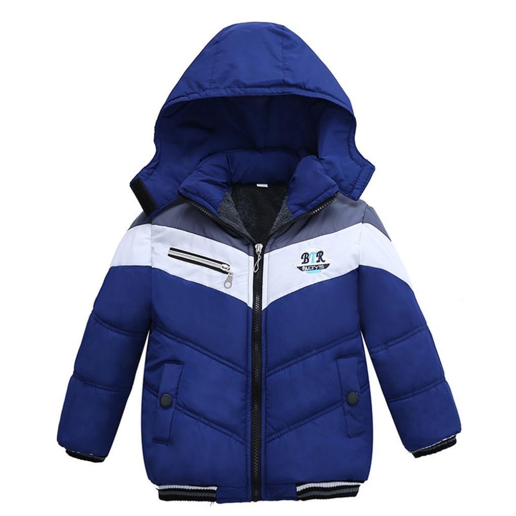 Baby Kleinkind Mädchen Junge Kinder Mantel Jungen Mädchen Dicke Kapuze Mantel Padded Winter Jacke Kleidung By Dragon