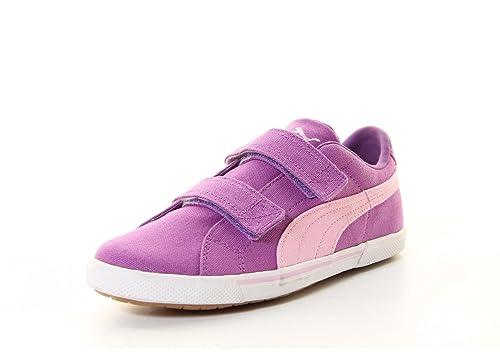 d46a42988cb05 Puma Benicio Toile V Souliers d enfants Sneaker Berry