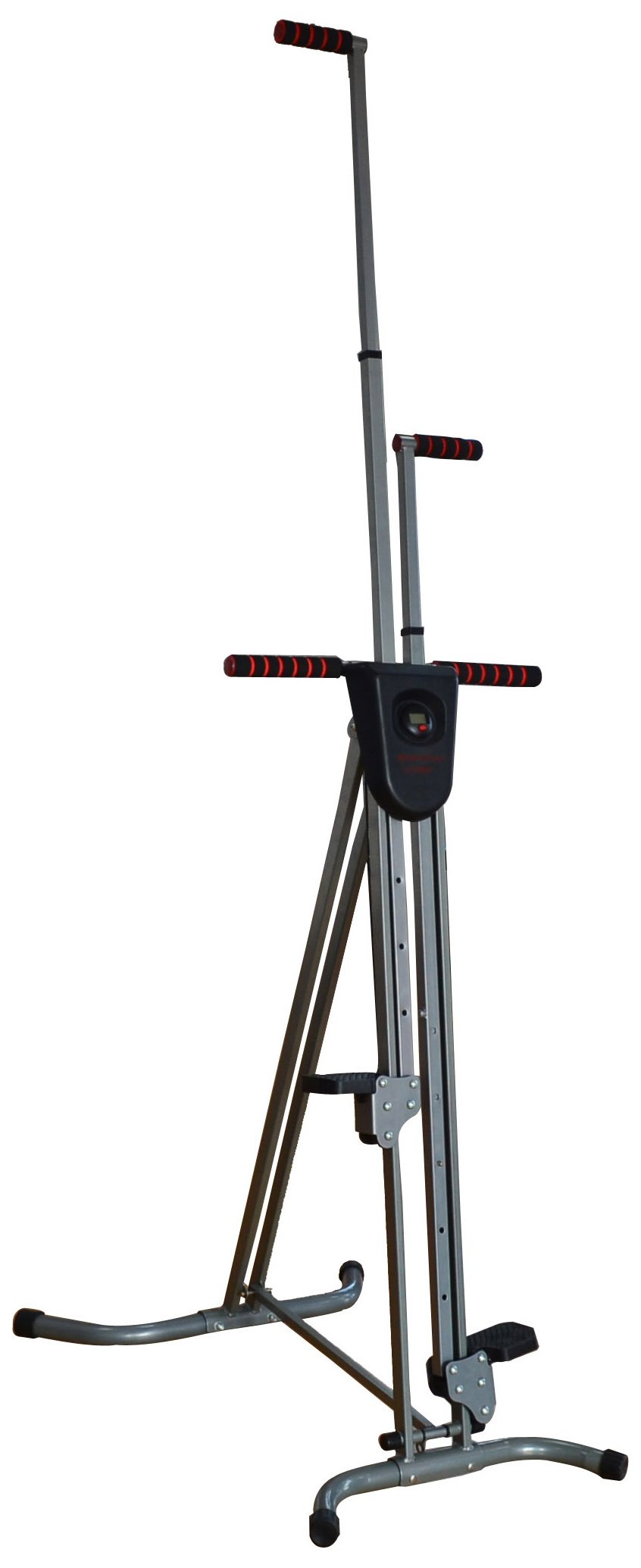 BalanceFrom Vertical Climber with Cast Iron Frame and Digital Display by BalanceFrom