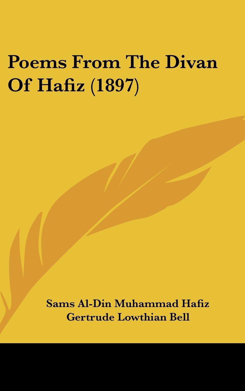 Poems From The Divan Of Hafiz (1897) pdf epub