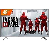 Smart TV LED 49'' Ultra HD 4K Semp SK6200 3 HDMI 2 USB Wi-Fi