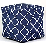 Outdoor Beanbag Ottoman, Fillable Beanbag, Removable Cover, Washable cover, Cushions NOT included, Perfect for any Yard, Patio or House, Lightweight and Great Extra Seat + Expert Home Guide by Love US