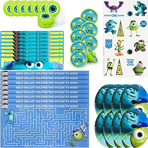 Price comparison product image Hallmark BB1TPE1740 Monsters Inc. Party Favor Pk - 48 Piece