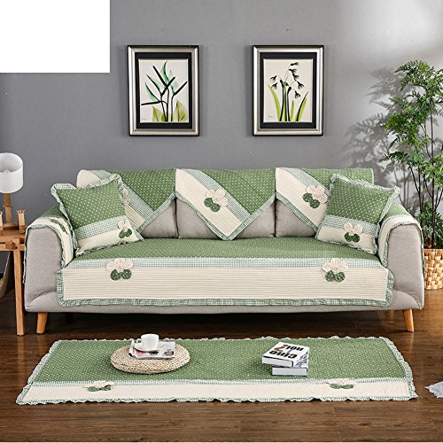 Sofa cushions,hand-sewn fabric cushion-B 90x160cm(35x63inch) by JIN Sofa mats