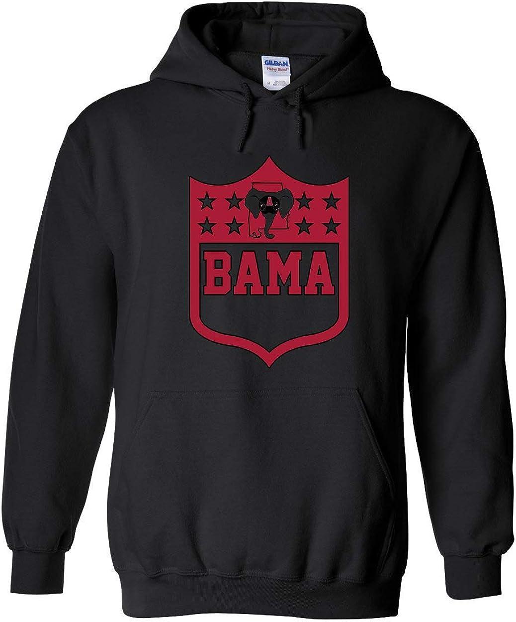 Americas Finest Apparel Alabama Shield Hoodie