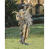 Design Toscano Rhiannon the Archer Fairy Garden Statue For Sale