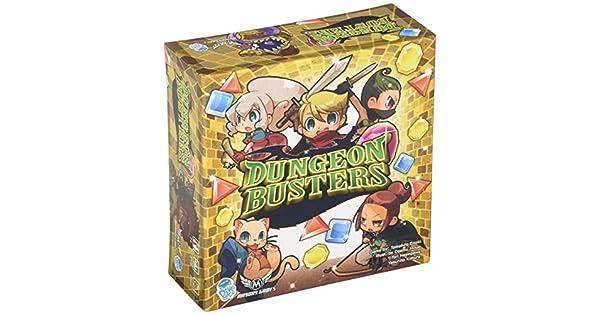 Amazon.com: Dungeon Busters Junta Juego: Toys & Games