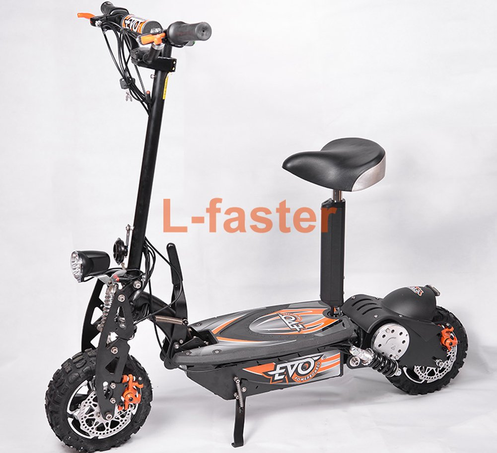 L-faster 36V48V 1000W UNITEMOTOR Brushed Motor MY1020 with Controller and LED Throttle Electric Motorcycle MX500 Upgraded Engine Kit (36V Normal kit) by L-faster