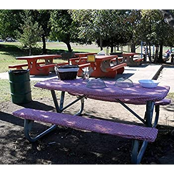 Amazon Com Homecrate Checkered 72 Inch Picnic Table And