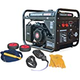 Tomahawk 15 HP Engine Driven Portable 2,000 Watt Generator with 210 Amp Stick and TIG Welder