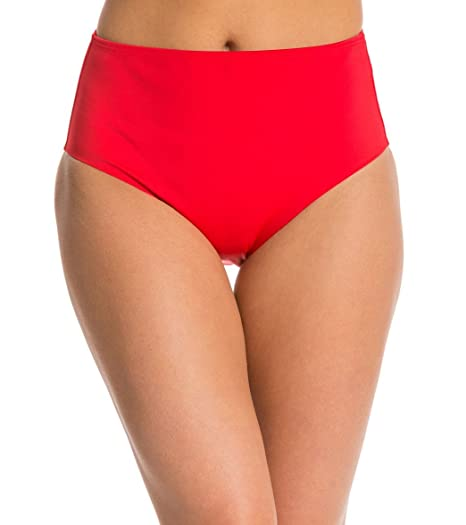 8d35a240cd8a0 Amazon.com: SPANX Mid-Waisted Swim Bottom with UPF Protection: Clothing