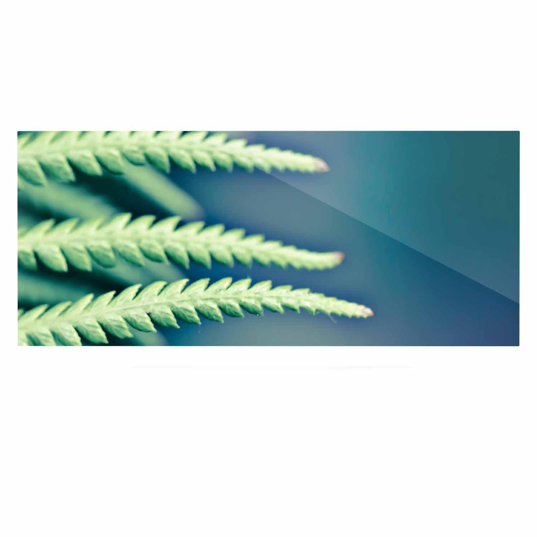 Kess InHouse Ann Barnes Castaway Teal Coastal Luxe Rectangle Panel 24 x 36